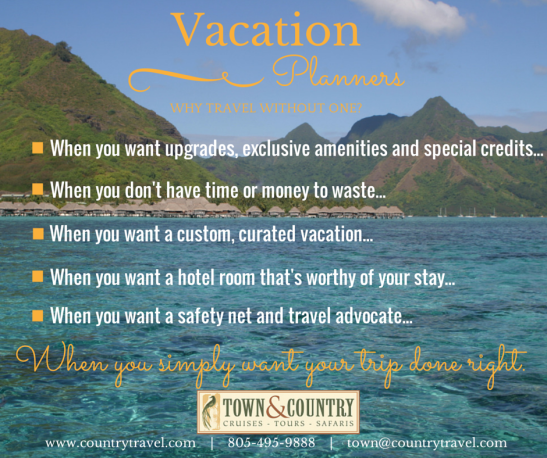 why hire a vacation planner