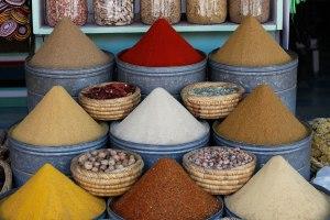 Moroccan Spice Market