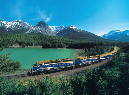 Rocky Mountaineer, Kicking Horse Pass