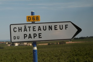 All roads lead to Chateauneuf du Pape!