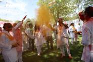 Holi w the King of Jodhpur