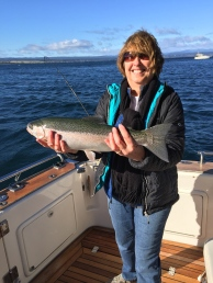 Carolyn's big catch!