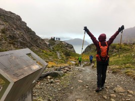 Hike to Glacier Grey