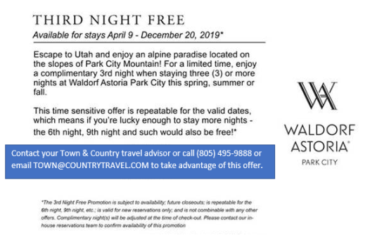 Waldorf PC summer promo